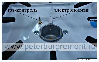 Ремонт газовой варочно панели