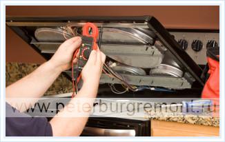 Ремонт газовых плит индезит с электроподжигом