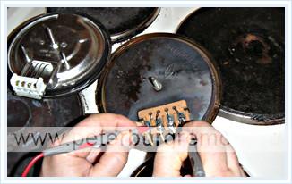 Ремонт электроплит горенье в москве